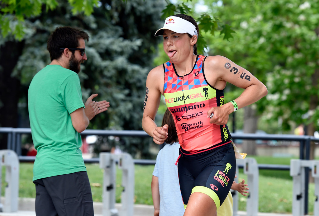 . Angela Naeth runs during the 2018 Boulder Ironman race on Sunday in Boulder. For morep photos of the race go to www.dailycamera.com Jeremy Papasso/ Staff Photographer 06/10/2018