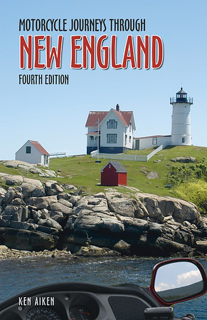BG-17 White Horse press  book Motorcycle Journeys through New England cover pic
