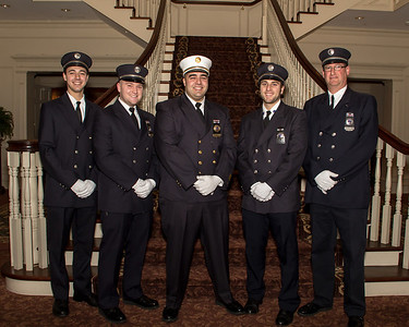 Ironia Fire Company - Line Officers 2013 -  cropped for 5x7 print