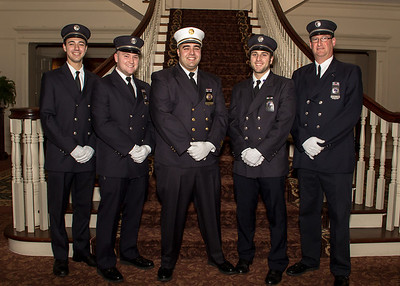 Ironia Fire Company - Line Officers 2013 - cropped for 8x10 print