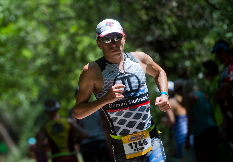 "Kevin Konczak, of Boulder, competes in the running portion of the 2016 Ironman Boulder on Sunday.<br /> More photos:  <a href=""http://www.dailycamera.com"">http://www.dailycamera.com</a><br /> (Autumn Parry/Staff Photographer)<br /> August 7, 2016"