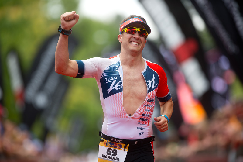 "Marshal Steves, of Thornton, Colo., approaches the finish line of the 2016 Ironman Boulder on Sunday. <br /> More photos:  <a href=""http://www.dailycamera.com"">http://www.dailycamera.com</a><br /> (Autumn Parry/Staff Photographer)<br /> August 7, 2016"