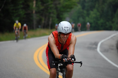 Looking relaxed as I head back towards the big climb into Lake Placid, mile 35(ish)
