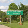 In Jay, turn left toward Wilmington