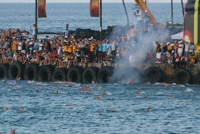 Swim Start Ironman Kona 2012 Photo by Raymond Britt7