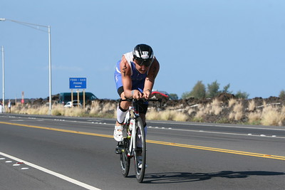 Ironman Triathlon Bike Course Queen K Waikoloa Mile 25 Outbound Photos by Raymond Britt