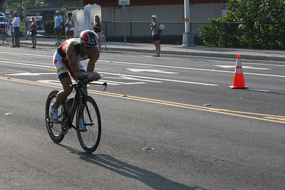 Ironman Kona Triathlon Bike Start Photos by Raymond Britt