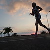 Ironman Kona Triathlon Run Course Queen K Sunset Photo by Raymond Britt
