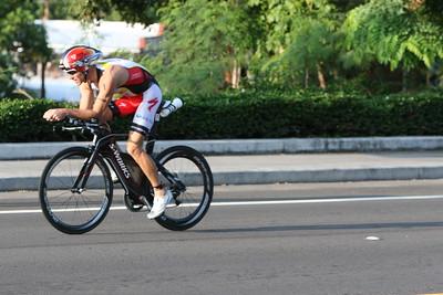 Ironman Kona Triathlon Bike Start Photos by Raymond Britt