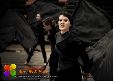 NCHS Images winter guard performance 3/26/2015