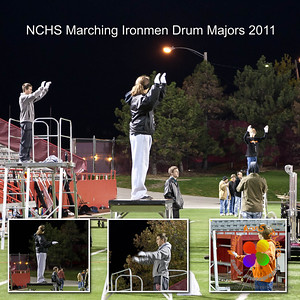 Drum major collage.   Order as any square size. ©Music Man5 Photos