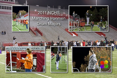 Drum Major collage.   Order as an 8 x 12 to eliminate any cropping ©Music Man5 Photos