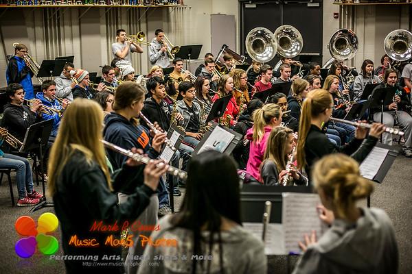 Parade rehearsal 12/1/2014
