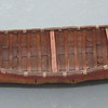 "Birchbark model canoe, ca. early 20th century.  Length:  49"" (124.4 cm.)"