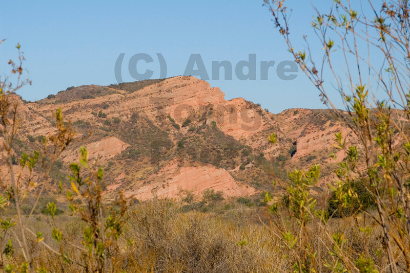 Red Rocks framed