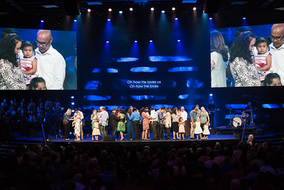 2017-10-22 Sunday 11a baby dedications
