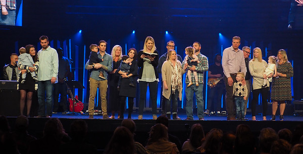 2018-02-24 Saturday 5p baby dedications