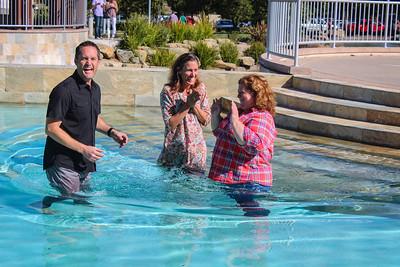 2014-03-09 spontaneous Sunday baptism