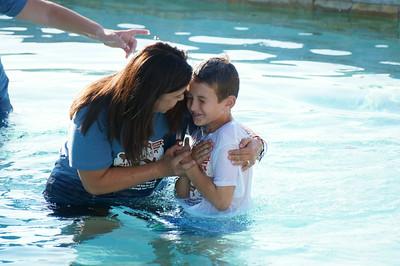 2014-07-05 VBS baptisms