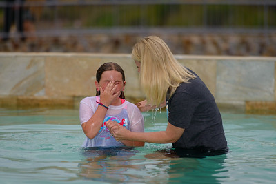 2015-06-27 VBS Baptism