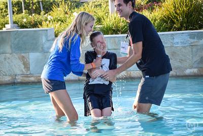 2017-08-20 Jr High Baptisms