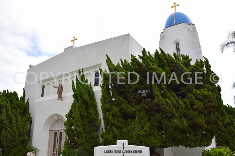 655 C Avenue, Coronado, CA - 1919 Sacred Heart Catholic Church, Gill and Gill, Architects