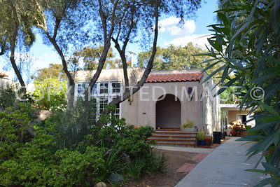 3721 Albatross Street, San Diego, CA - 1908 Prototype Worker's Cottage, Irving Gill, Architect