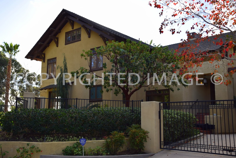 3100 Brandt Street, San Diego, CA - Charles Fox Residence, Irving Gill, Architect