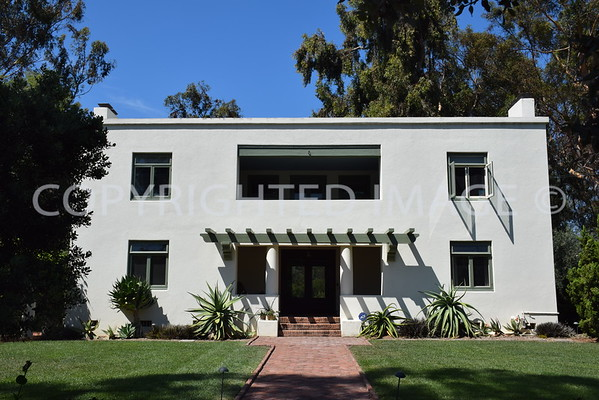 Irving Gill Architecture, San Diego County