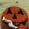 """""""Hay Pumpkin"""""""