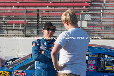Pre Race and Autography signing April 22nd