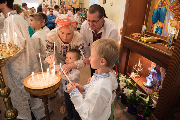 Ukrainian Orthodox Easter Service  |  Cumming, GA