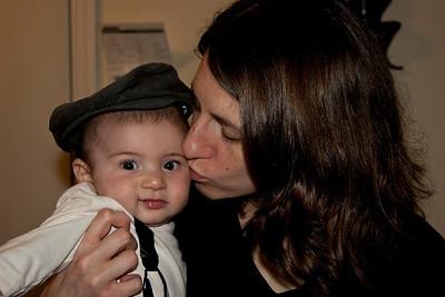 Isaac - 4 months - Halloween 2010