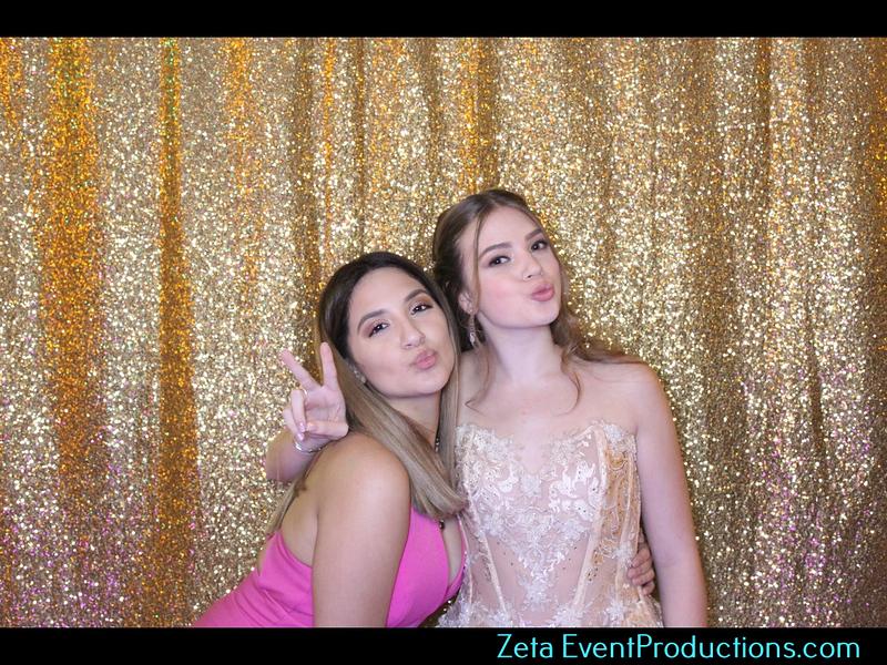 Zeta Event Productions celebrate Isabella Lucas Quince at The Confidant Hotel In Miami Beach.