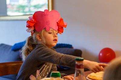 Feestje Isabella 5 jaar