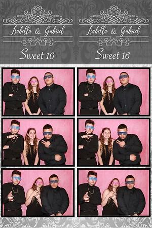 Isabella&Gabriel Sweet sixteen
