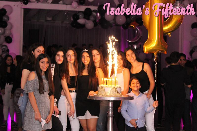 Isabella's 15th Birthday