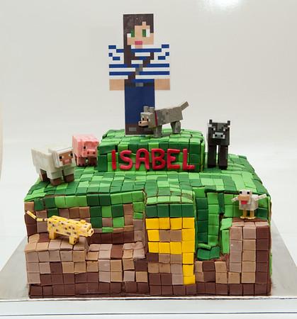 Isabel's 9th Birthday (Minecraft)