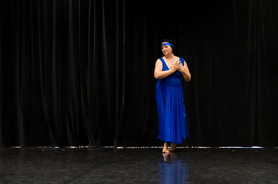 "Showing: Iris Mesko - ""The Blue Angel"""