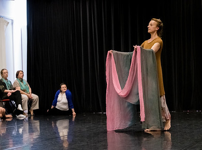 """Showing: Jennifer Sprowl - """"Duncan Dance Chicago Choreographic Offerings Creating/Crafting Through Improvisation"""""""