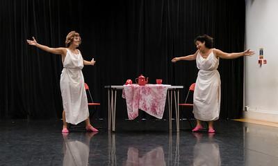 "Showing: Estela Serrano - ""The Tea of Isa and Dora"""