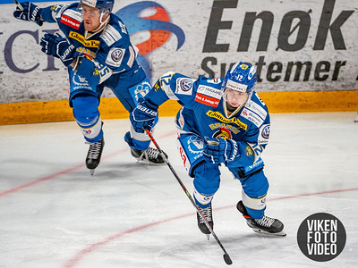 Spartas spiller Victor Öhman i kampen mellom Sparta og Vålerenga.   Foto: Thomas Andersen