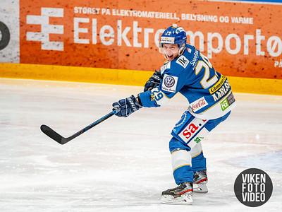Spartas spiller Robin Karlsson i kampen mellom Sparta og Vålerenga.   Foto: Thomas Andersen