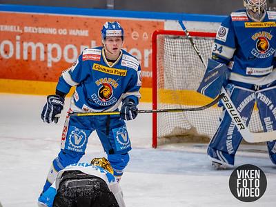 Spartas spiller Emil Lilleberg i kampen mellom Sparta og Narvik. Foto: Thomas Andersen