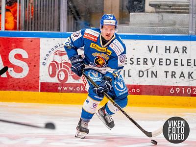 Spartas spiller Mattias Nilsson i kampen mellom Sparta og Stavanger. Foto: Thomas Andersen