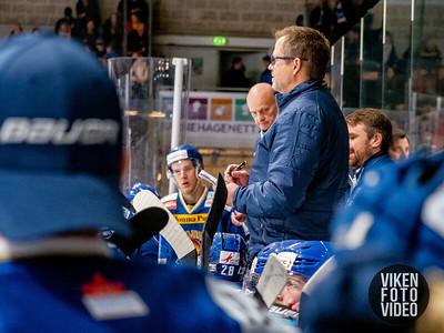 Spartas hovedtrener Sjur Robert Nilsen  i kampen mellom Sparta og Stavanger. Foto: Thomas Andersen