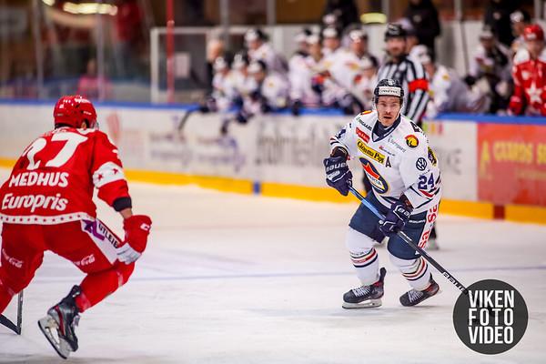 Spartas spiller Mattias Nilsson i kampen mellom Stjernen og Sparta. Foto: Thomas Andersen