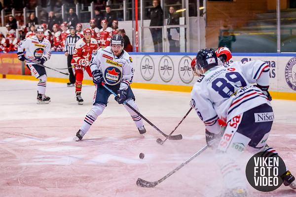Spartas spiller Kristian Jakobsson i kampen mellom Stjernen og Sparta. Foto: Thomas Andersen