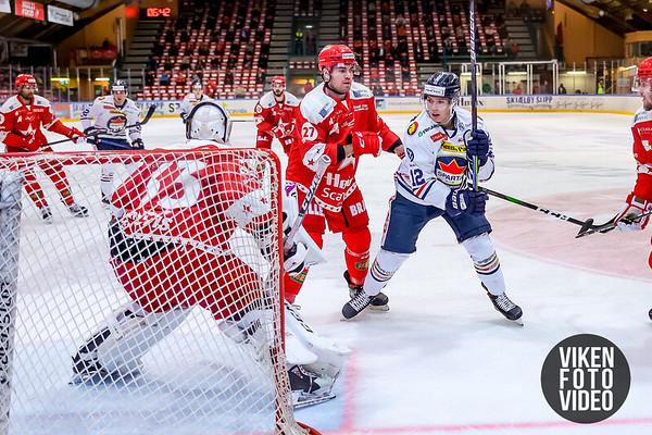 Spartas spiller Victor Öhman i kampen mellom Stjernen og Sparta. Foto: Thomas Andersen