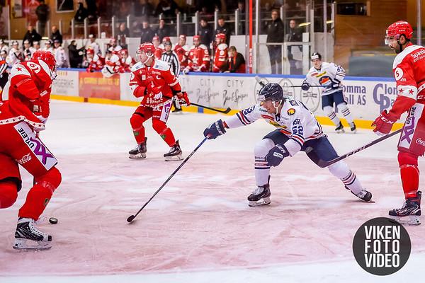 Spartas spiller Svein Petter Falk-Larsen i kampen mellom Stjernen og Sparta. Foto: Thomas Andersen